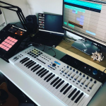 Here's how to wallpaper your room with synthesizers.
